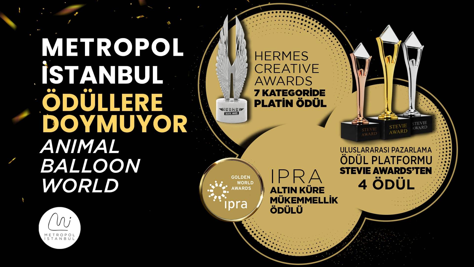 Metropol İstanbul Ödüllere Doymuyor