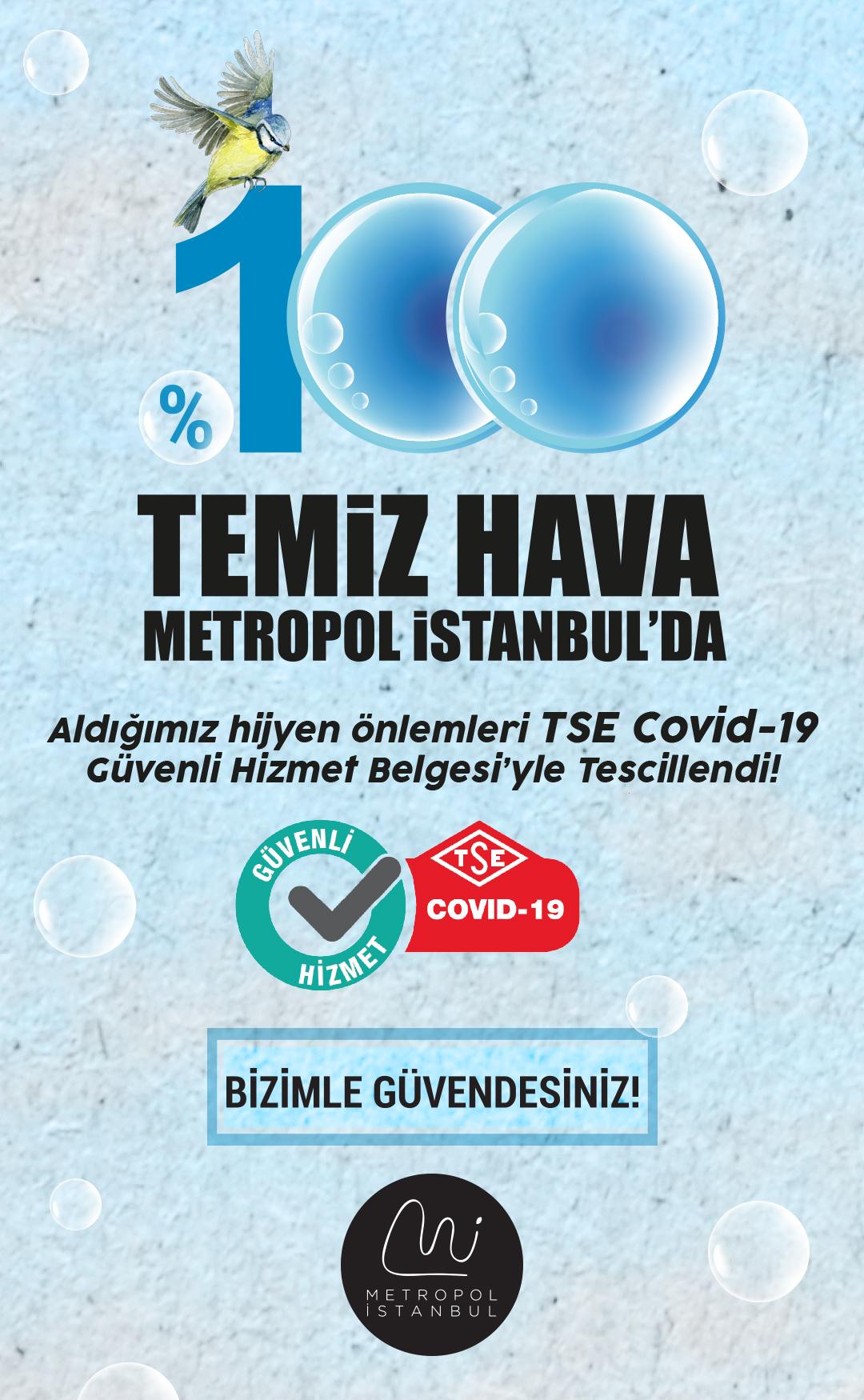 TSE Onaylı Güvenli Alışveriş Metropol İstanbul'da!