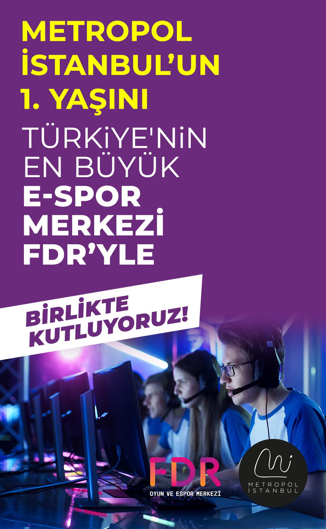Metropol İstanbul'un 1. yaşını kutluyoruz!