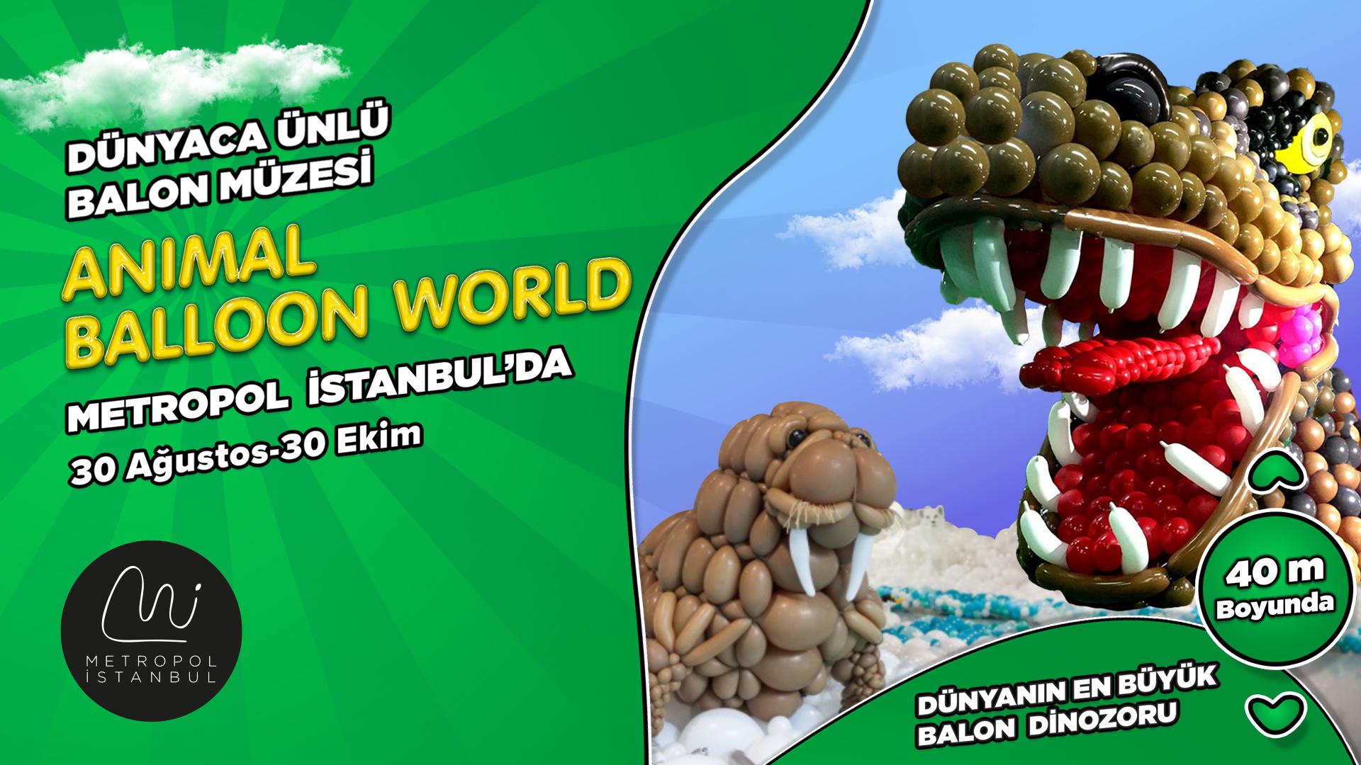 Dünyaca Ünlü Balon Müzesi Metropol İstanbul'da