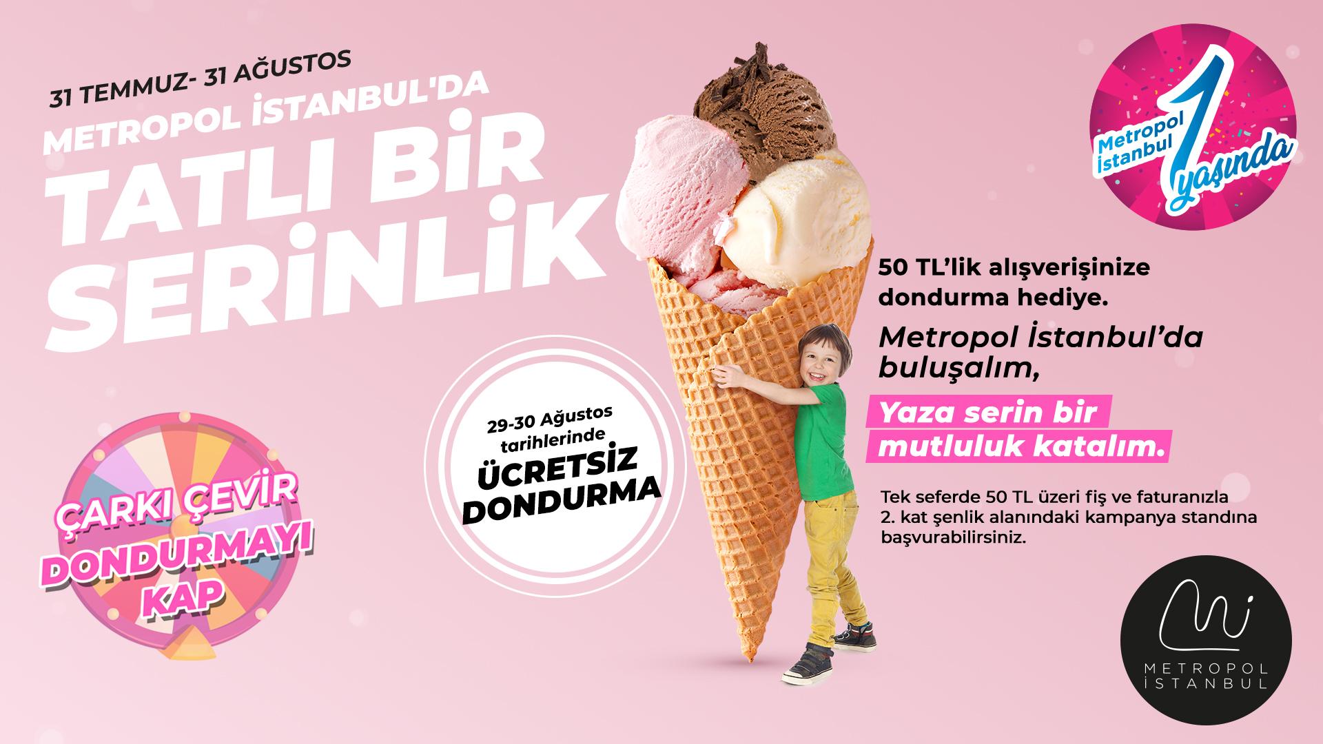 Yazın En Serin Şenliği Metropol İstanbul'da!