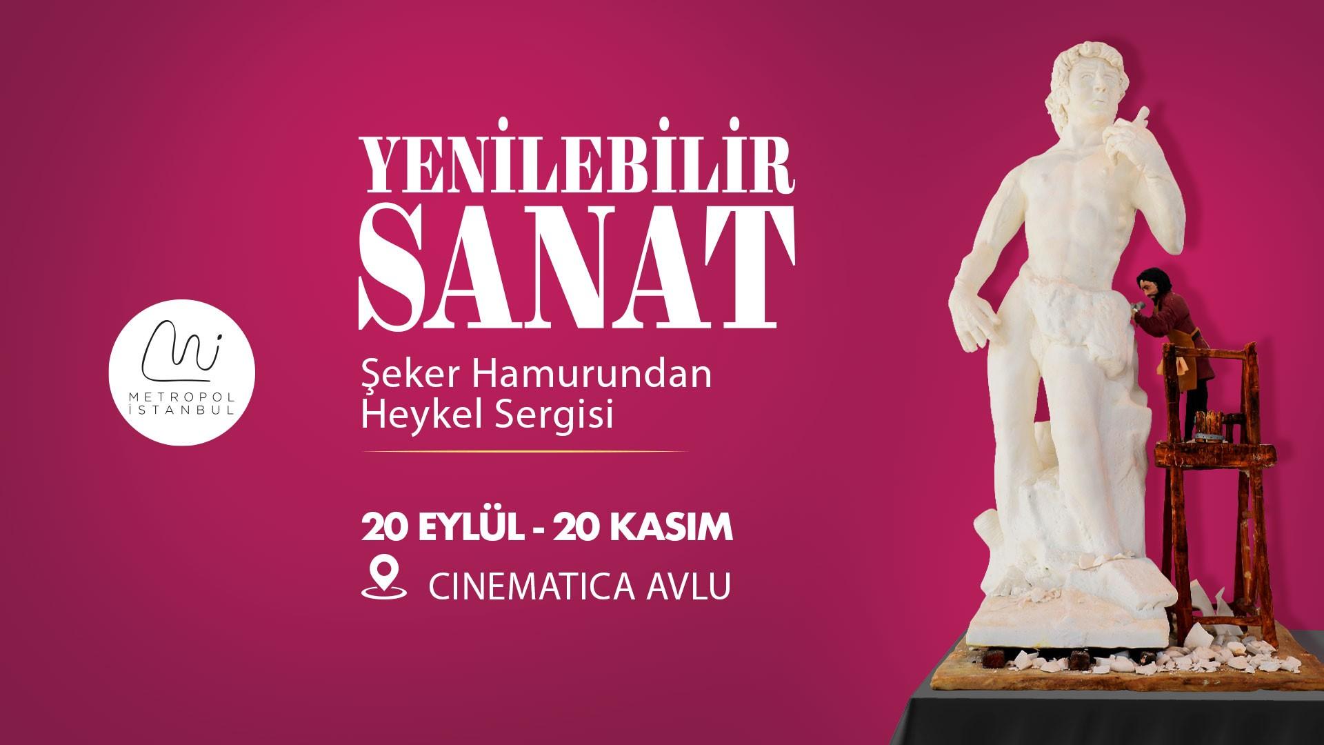 Yenilebilir Sanat Sergisi Metropol İstanbul'da!